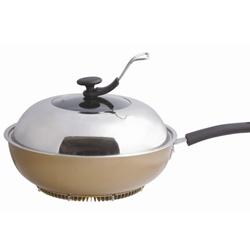 聚火节能黑晶锅